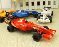 Ücretsiz kargo geri çekin dört tekerlekli sürücü araba çocuk sıcak satış ucuz oyuncaklar f1 yarış oyuncak alışveriş Promosyon