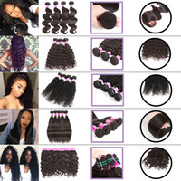 Peruvian Straight And Curly Human Hair Bundles Water Wave Bo...
