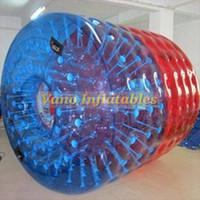 Water Walker TPU قوي قابل للنفخ بكرة ماء لعبة كرة Zorbing بركة لعبة 2.2m 2.4m 2.6m 3m مع مضخة شحن مجاني
