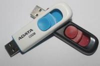 2018 베스트 셀러 ADATA C008 64GB 128GB 256GB USB 2.0 플래시 메모리 펜 드라이브 스틱 Pendrivive 무료 배송