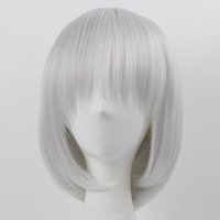 Synthetic Hair Wigs with Full Bangs Short Heat Resistant Lig...