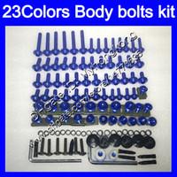 Fairing bolts full screw kit For KAWASAKI ZX7R 96 97 98 ZX-7R ZX750 ZX 7R 1996 1997 1998 1999 Body Nuts screws nut bolt kit 25Colors