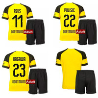 18 19 Dortmundd Soccer Jerseys Shorts Kits 2018 2019 PULISIC...