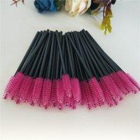 Seashine livraison gratuite Prix usine Nylon cheveux jetables Mini baguettes de cils Eye Lash Maquillage Brosse Mascara Wands