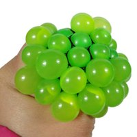Funny Toys 5CM Antistress Face Reliever Grape Ball Autism Mo...