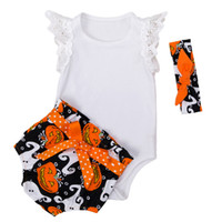 New Baby Romper+ Shorts Suit with Headband 3- pcs Christmas Ha...