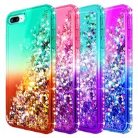 For Iphone 8plus Case Luxury Glitter Liquid Quicksand Shiny ...