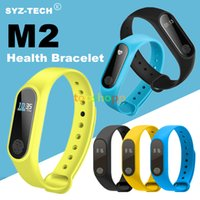 M2 Smart Watch Fitness Tracker Heart Rate Monitor IP67 Water...