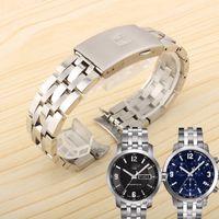 19mm 20MM solide en acier inoxydable 1853 bracelet de montre pour T-SPORT PRC200 T17 T461 T014430 Bracelet T014410 Man Livraison gratuite