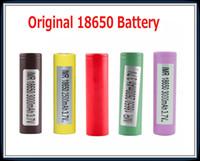 Original 18650 Bateria HG2 INR18650 30Q 3000mAh HE2 HE4 INR 25R 2500mAh Genuine Baterias recarregáveis usando 100% autêntica em estoque
