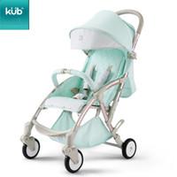 Kub poussette bébé poussette légère pliante pliante assise inclinable enfant à quatre roues suspension parapluie