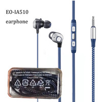New braid EO- IA51 earphone 1. 2M 4ft 3. 5mm jack wired stereo ...