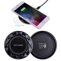 Fast Wireless Charger Diamond Qi LED Light Phone Charger Pad...