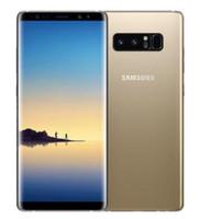 Receitado Original Samsung Galaxy Nota 8 N950F N950U Desbloqueado Celular Octa Core 6G / 64G Câmeras Traseiras Duplas 12MP 6.3inch 4G LTE