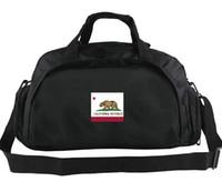 Kalifornien Seesack USA Ich habe es Provinz tote Goldene Staatsflagge Rucksack Banner Gepäck Sport Schulter Duffle Außen Sling Pack gefunden