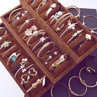 Printemps et été nouvelle version coréenne plaqué or de zircon fine bracelet en gros fabricants