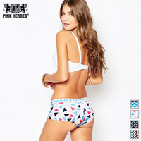 PINK HEROES New Develop Lovers Sexy Women Underwear Boxer Br...