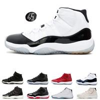 reputable site 976ba 98c10 Mens-Basketball-Schuhe 11s Turnhalle-rote Chicago-Mitternachtsmarine  GEWINNEN WIE 82 UNC