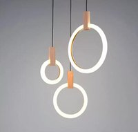 Modern LED chandelier nordic living room pendant lamp bedroo...