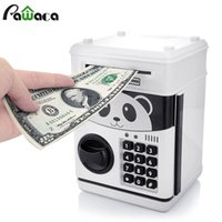 Cute Automatic Money Saving Storage Boxes Tank Cash Electron...