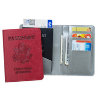 36242c4062773 USA Passdecke für Frauen Etaofun Marken Qualität Reiseunterlagen Fall für  Id-Karten Brieftasche Männer Passinhaber