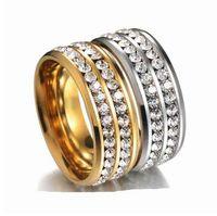 Новые прибывшие мужчины хип-хоп замороженные bling кольца мода изысканный мужские модные кольца хип-хоп Анель ювелирные изделия подарки