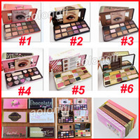 Faced Makeup Sweet peach Eyeshadow white Chocolate Bar bons ...