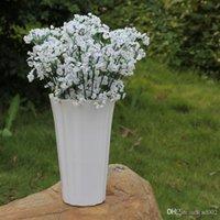 Artificiale Bridal Flowers Bouquet Vivid Fake Starry Gypsophila Simulazione Fiore Per Decorazioni Festa di Nozze Babysbreath Many Color2mx ZZ
