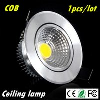 Super Bright Dimmable Led downlight light COB Techo Spot Light 3w 5w 7w techo empotrado luces Iluminación interior