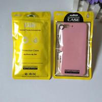 지퍼 팩 아이폰 XS 커버 포장 500PCS / 부지 12 개 * 21cm 5 색 플라스틱 지퍼 잠금 휴대 전화 케이스 가방 휴대 전화 쉘