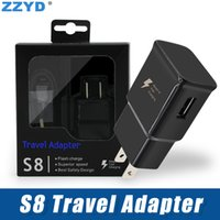 ZZYD For Samsung S8 Note8 2 in 1 Travel Adapter Fast Chargin...