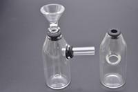 Mini Bong Thick Dab Rig Gorgogliatore da 4,2 pollici Oil Rig Heady Glass Dab Rigs Beaker Water Pipe Piccolo Recycler Pyrex Water Bong tabacco