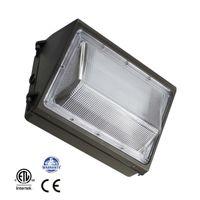 45W 60W 80W 100W LED Wallpack 빛 HPS / HID 교체, 실외 벽 팩 표면 장착 램프 ETL 나열
