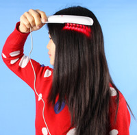 2018 المحمولة مشط ليزر نمو الشعر العلاج منخفض المستوى مع 16 الثنائيات الليزر للاستخدام الشخصي الشخصي CE / DHL