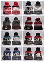 2018 Wholesale winter Beanie Knitted Hats All 32 Teams l foo...