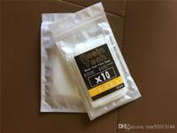 Sacchetto filtro per tè in resina pressofusa con rete in nylon da 25 micron, 1,75 x 4 pollici