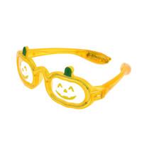 할로윈 호박 깜박이 선글라스 LED 할로윈 눈 안경 파티 호의 용품 장식 호박은 조명을 안경 위로
