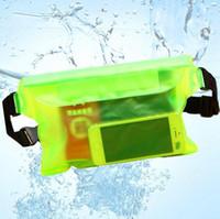 ماء الرياضة حقيبة السباحة الخصر حقيبة الانجراف الغوص الخصر فاني حزمة الحقيبة تحت الماء الجاف الكتف حقيبة الظهر جيب الهاتف