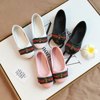 Baby Kids Shoes Children Girls Princess Leather Shoes Fashio...