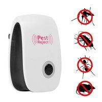 بالموجات فوق الصوتية الإلكترونية مكافحة الحشرات مبيد الصديقة للبيئة آمنة الآفات المنزلية رفض HH7-880