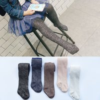 Europe New Style Gold and Silver Silk Pantyhose Fashion Todd...
