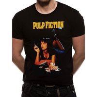 Maglietta da uomo Up Black Pulp Fiction