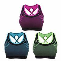 Женские быстросохнущие спортивные бюстгальтеры с перекрещенной спинкой полые Push Up Мягкие укороченные топы Ударопрочный нижнее белье для фитнеса Yoga Running Vest Top