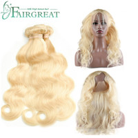 Fairgreat 613 Color Malaysian Straight Body Human Hair 3 Bun...