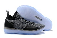 New KD XI 11 EP Oreo Grey Sports Basketball Shoes Mens Kevin...