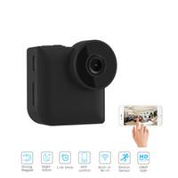 C3 Mini WiFi IP Caméra Sans Fil P2P Télécommande Vision Nocturne Mini Caméscope En Plein Air HD 720P Micro Action C1 Mini Caméra