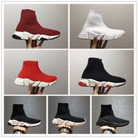 Cheap Brand Paris Sock Shoes Mens Speed Running Shoes Womens...