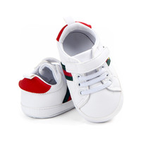 Baby Shoes Baby Boy Girl Crib Shoes Newborn First Walkers Fa...