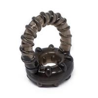 الوقت تأخير القضيب كم البضائع الحميمة القضيب توسيع حلقة قابلة لإعادة الاستخدام للرجال خاتم الديك الجنس لعب الكبار