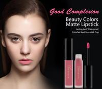 Nouveaux NICEFACE Marque Liquid Lipsticks Make Up Pigments Sexy Rouge Violet Velvet Matte Lip Gloss Kit de maquillage